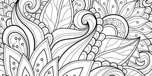 Coloring books archives enlightened coloring for Detailed pattern coloring pages