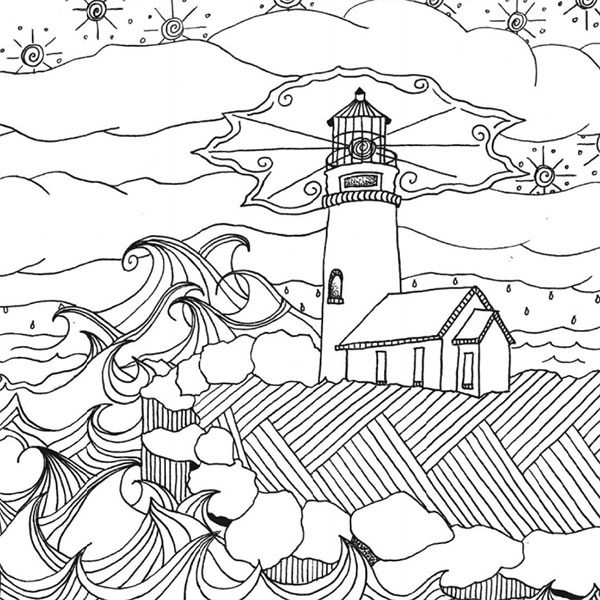 Lighthouse Under The Stars Visit Site For Page